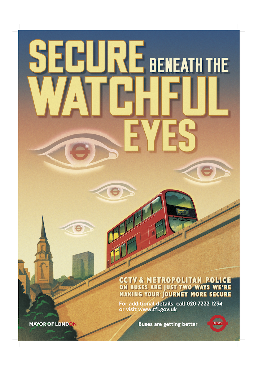 Secure Beneath Watchful Eyes
